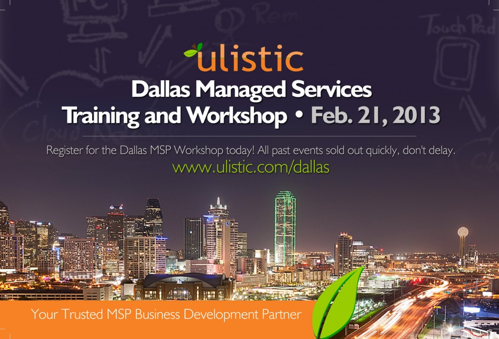 Dallas Managed Services Training