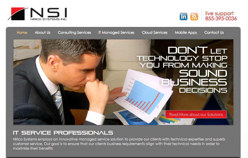 MSP Marketing Website