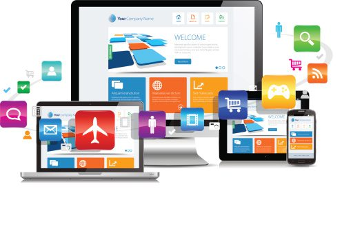 Responsive MSP website design