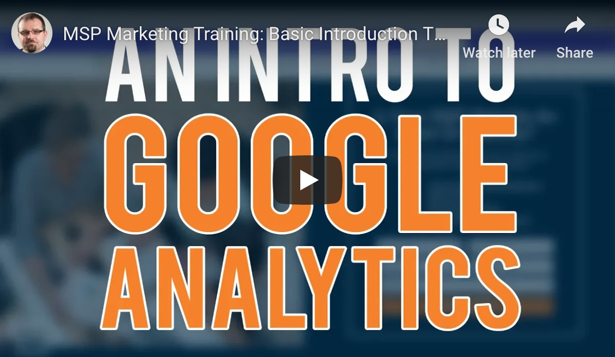 Google Analytics For MSPs