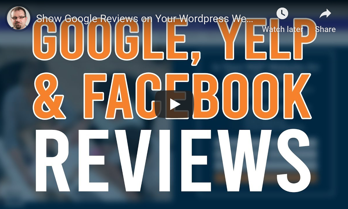 Google Reviews on your MSP Website