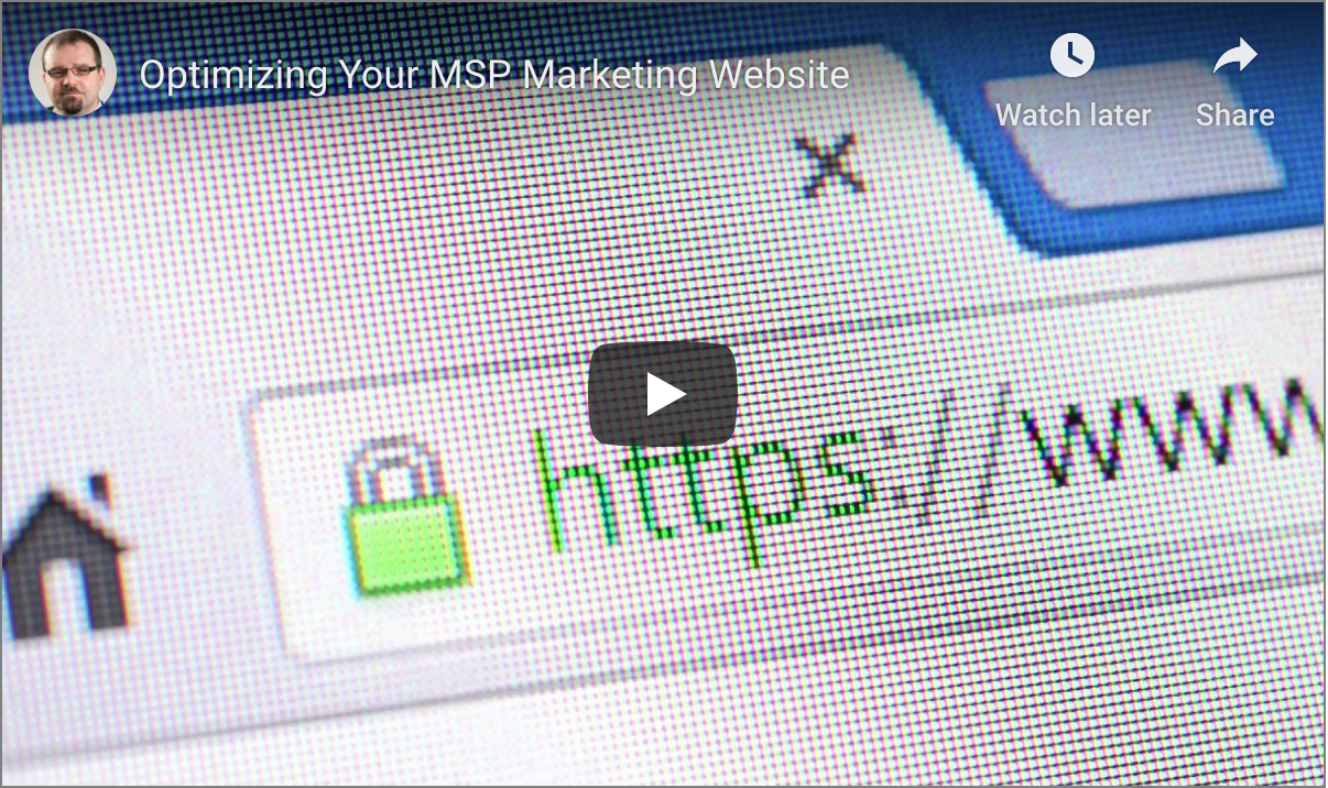 Improve Your MSP Marketing Website
