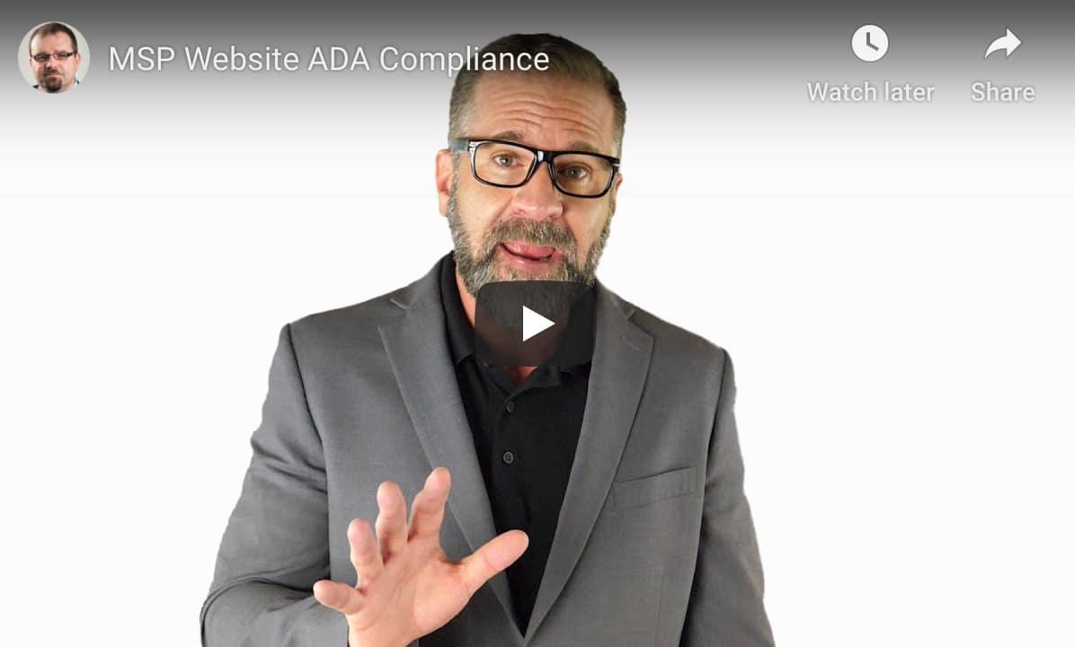 MSP Website ADA Compliance