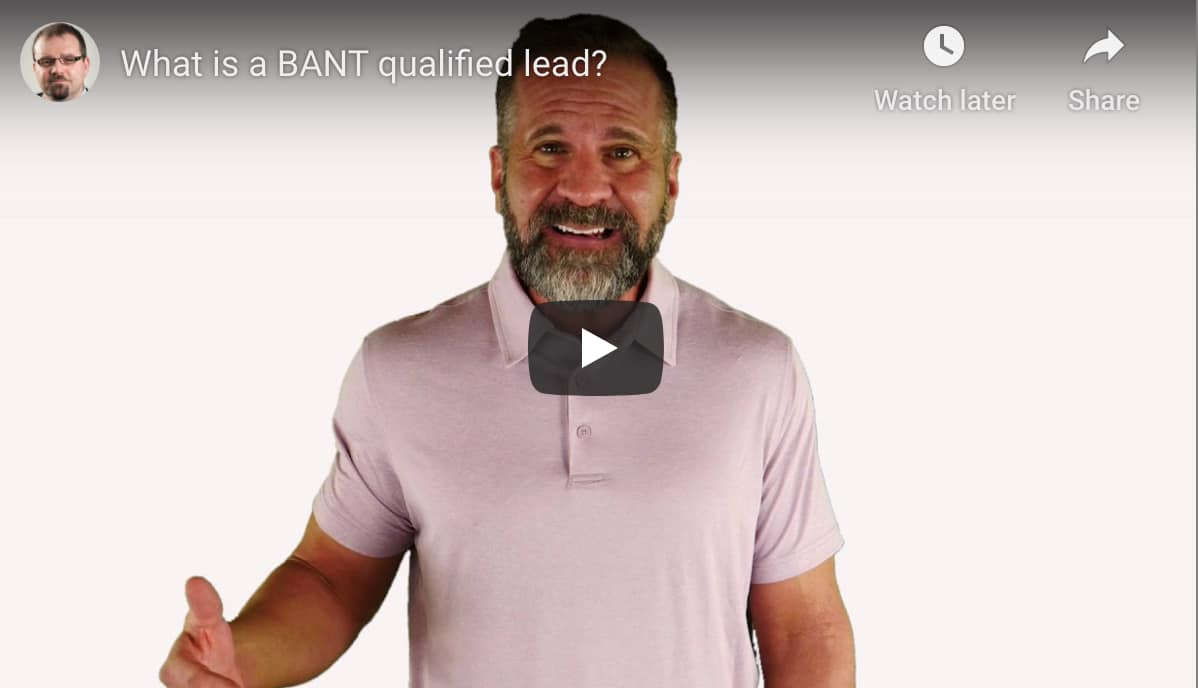 BANT Qualified Sales Leads