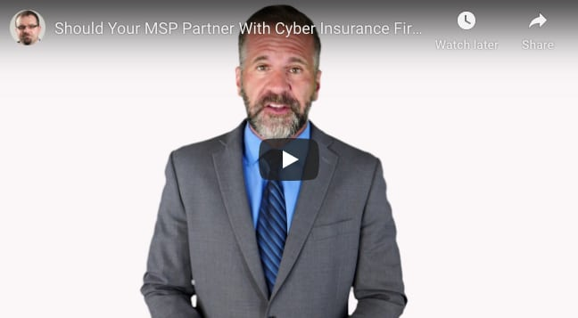 MSPs Partnering With Insurance Companies