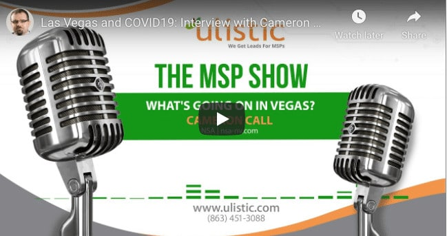 Cameron Call NSA Las Vegas