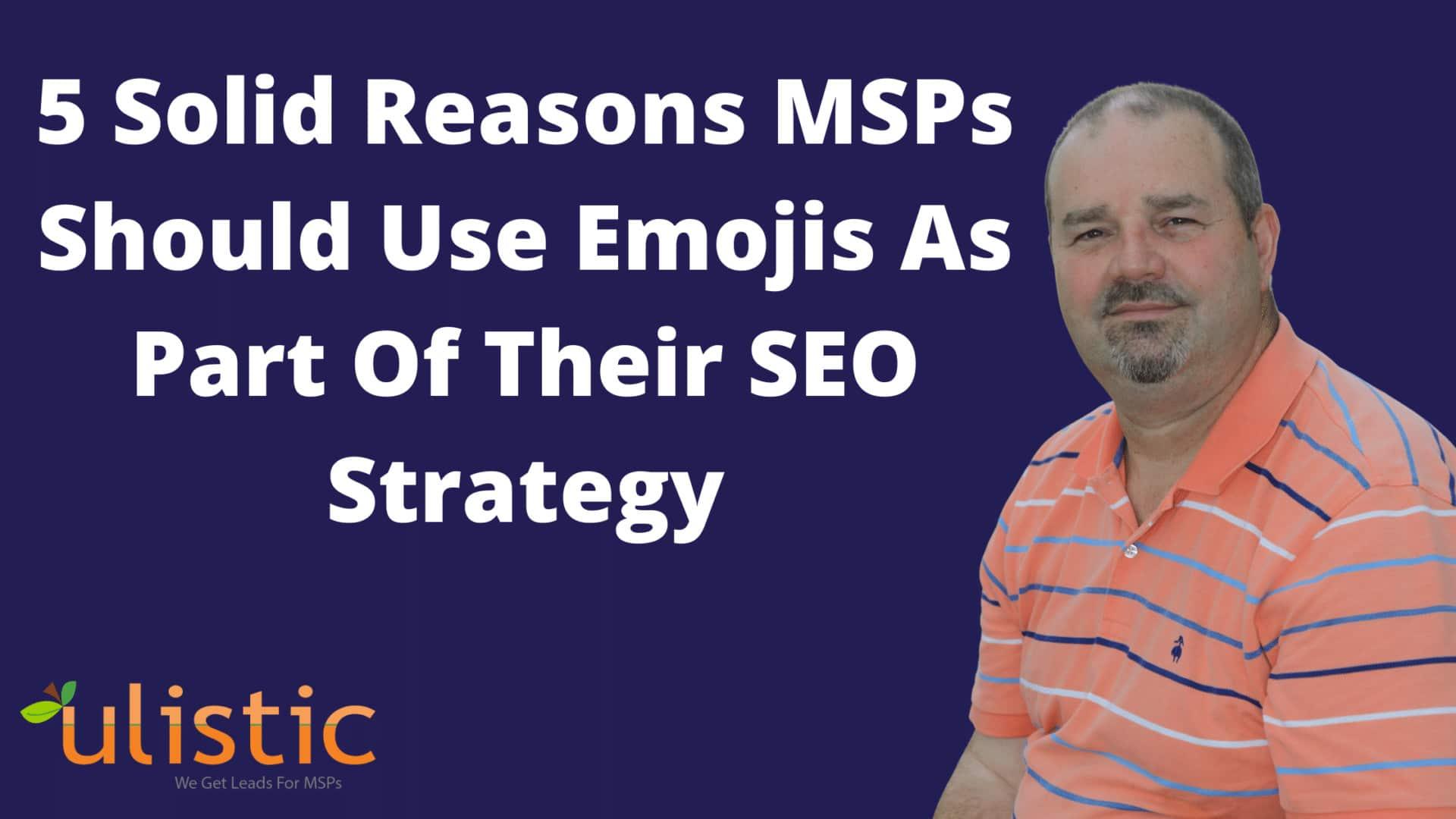 MSP SEO Strategies