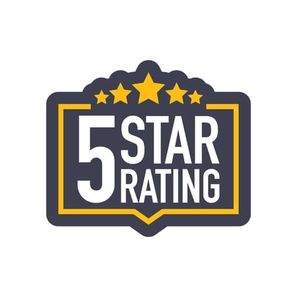 5 Star Google Website