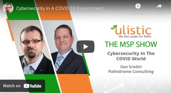 Cybersecurity In A COVID19 World