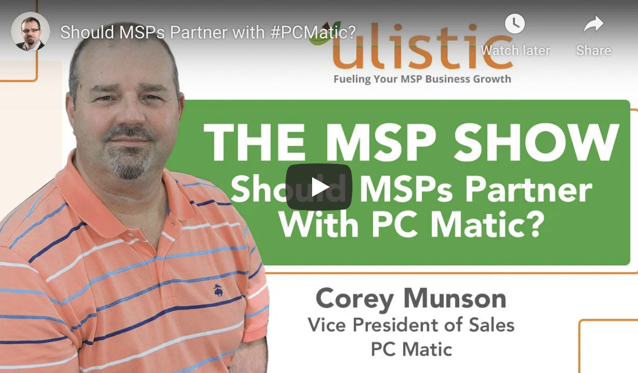 PCMatic for MSPs