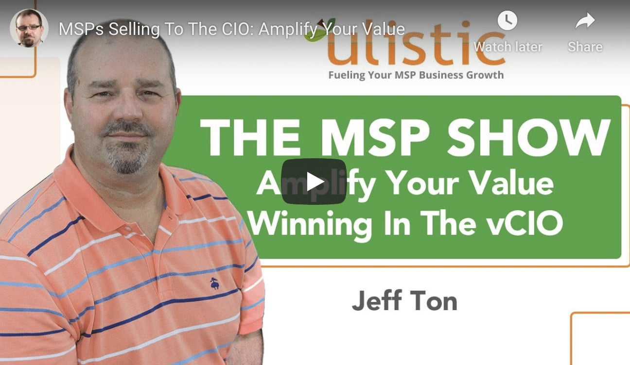 Selling IT Services To the CIO