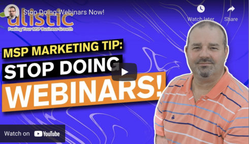 MSP Video Marketing Tips: Ditch Webinars and Opt For LinkedIn Live Streaming