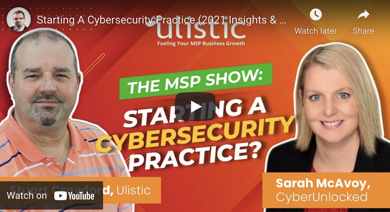 Starting a Cybersecurity Practice in 2021