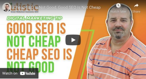 Cheap SEO Is Not Good, and Good SEO Is Not Cheap