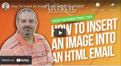 How To Insert An Image Into Your HTML Emails
