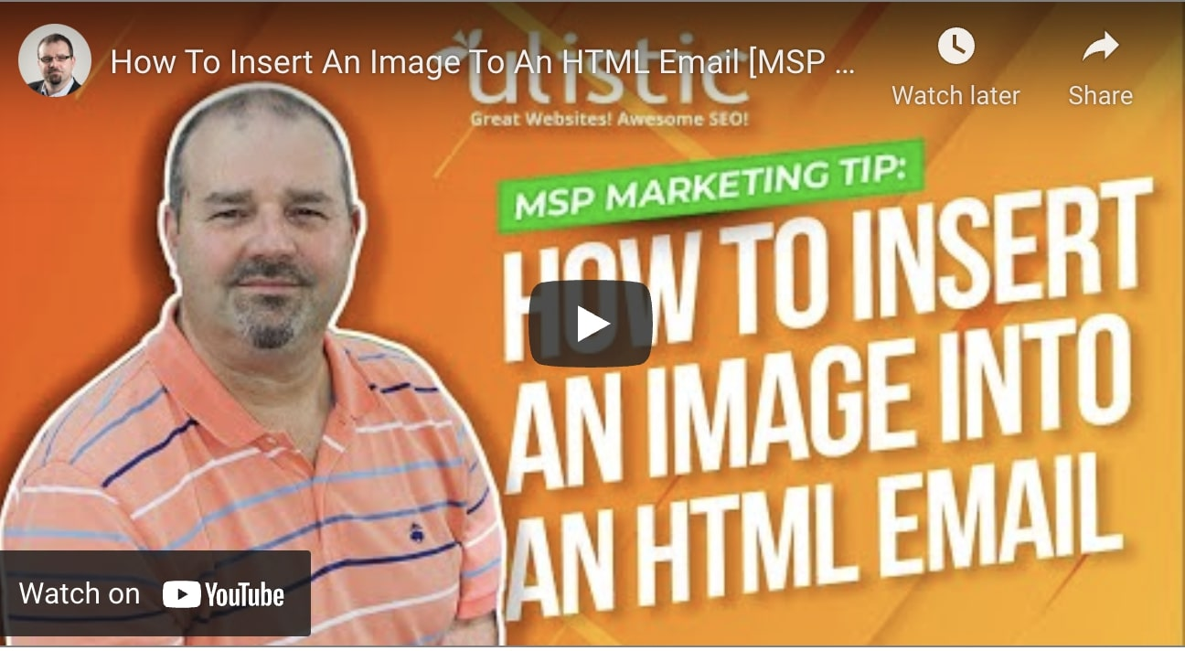 Insert Image Into HTML Email