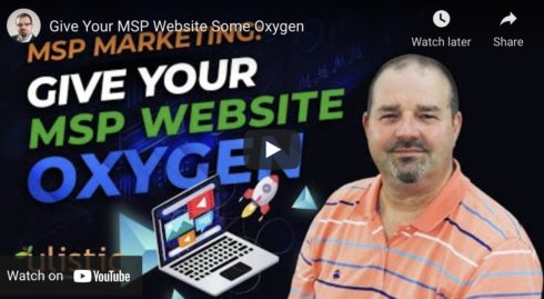 Give Your MSP Website Some Oxygen