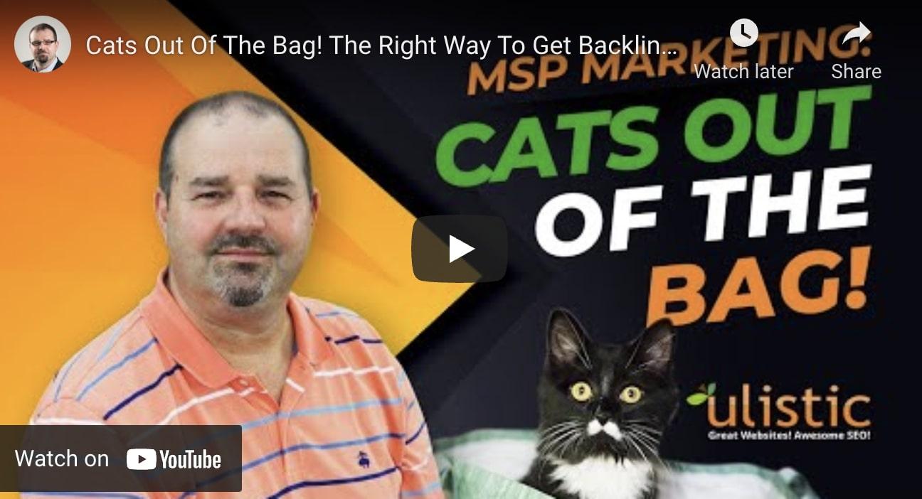 SEO Backlinks MSPs
