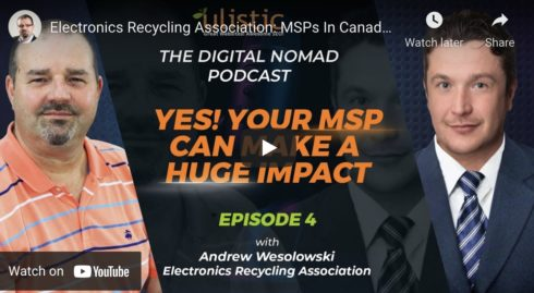 Electronics Recycling Association Helps Canadian MSPs